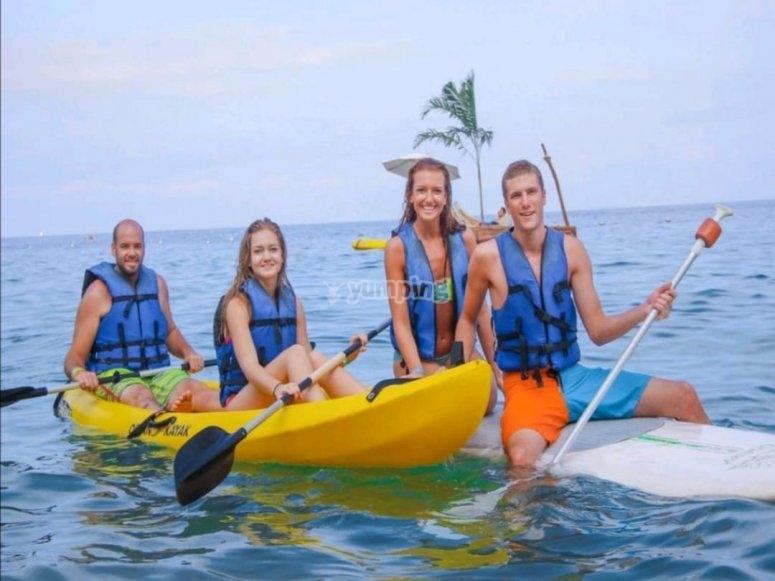 Kayak por el Islas Marietas