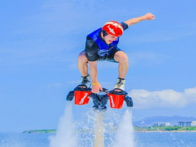 Flyboard and tour in Las Caletas with buffet and drink