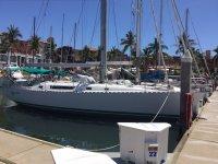 Mimosa Star en el puerto