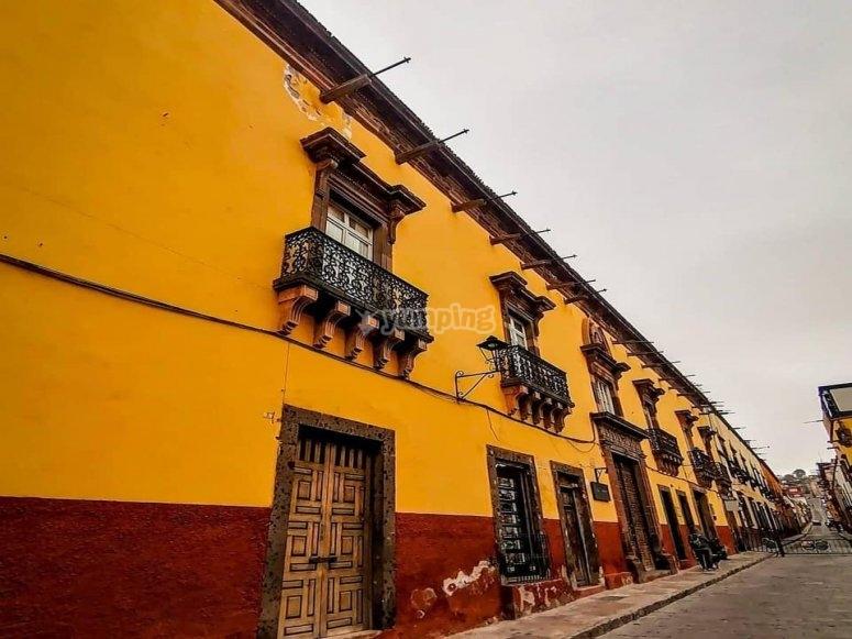 Pintorescas fachadas