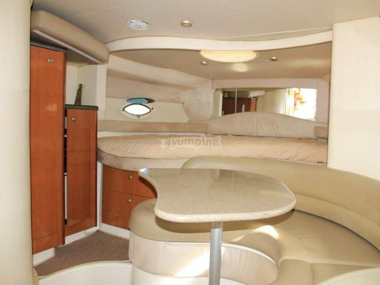 Interior de barco