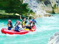 Rafting en cañon de la Huasteca Potosina y comida
