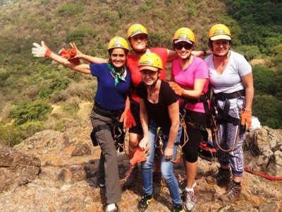 Rappelling in Tepoztlan Beginners Level