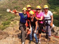 Abseiling in Morelos