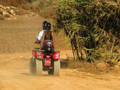 ATV and zipline tour in Cancun for kids