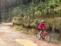 Cycling in Nevado