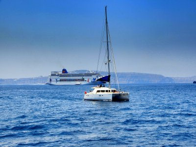 Paseo en barco a Isla Mujeres con transporte niños