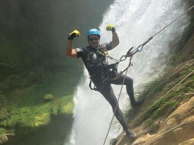 Rappel en Cueva del Salitre y Cascada en Xilitla