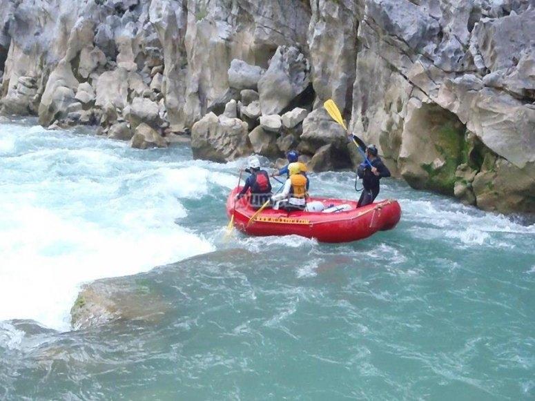 Rafting en la Huasteca