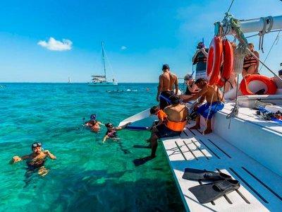 Boat trip all inclusive Isla Mujeres children