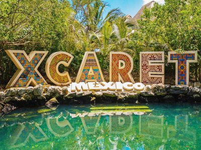 Tour to Xcaret and Chichén Itzá in two days children