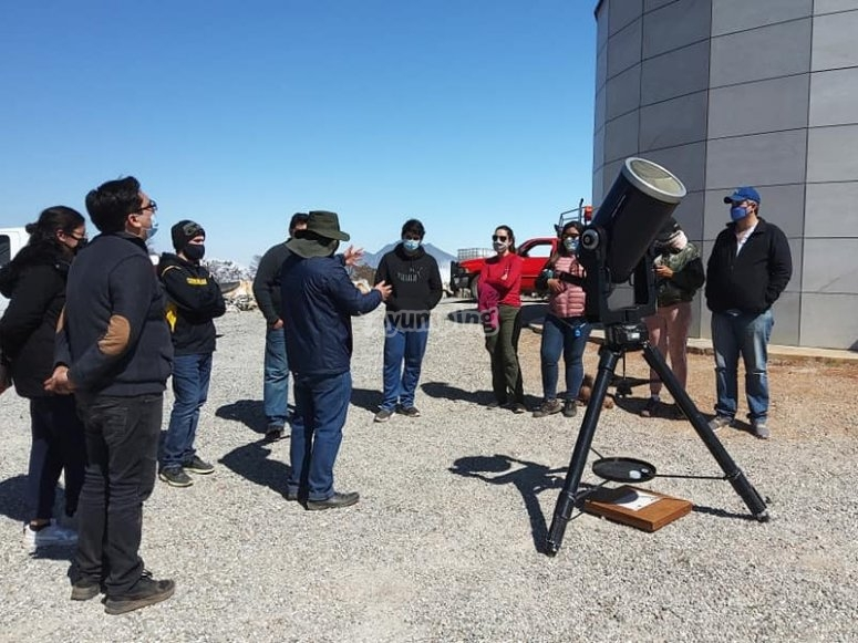 Astronomical observation
