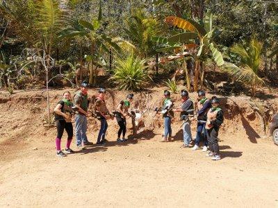 Gotcha battle with 200 bullets in Puerto Vallarta