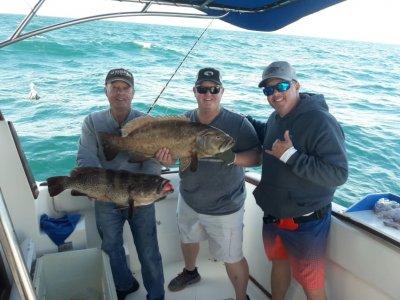 Deep fishing trip in Puerto Peñasco 10 hrs