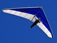 Hang gliding flight over Valle de Bravo