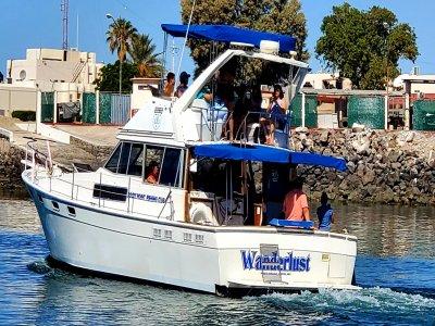 Tour en yate con snorkel en Puerto Peñasco 10hrs