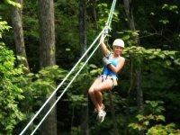 Salto en tirolesa en bosque de Valle de bravo 2hrs