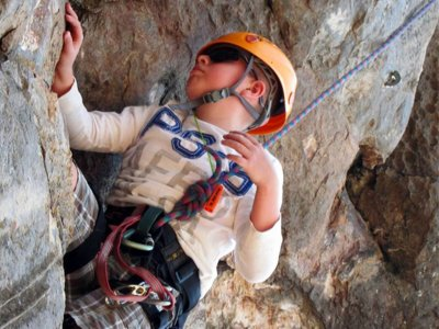 Rock Climbing and Rappel in Valle de Bravo 1 hour