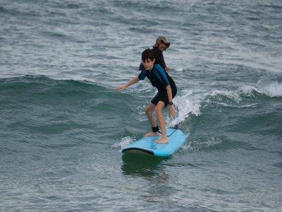 Clase de Surf en playa Blanca en San José del Cabo