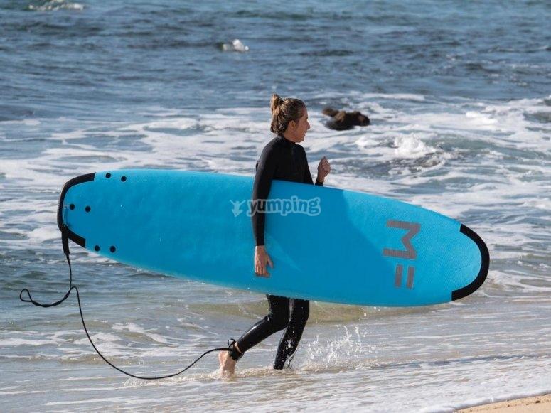 Surf en  San José del Cabo
