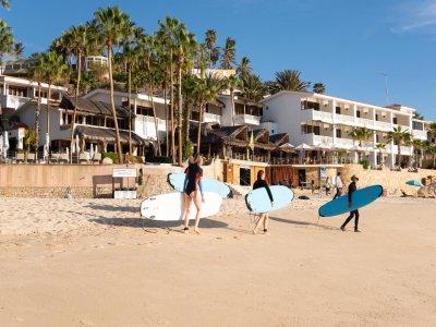 Tour guiado de Surf y aperitivo en S.José del Cabo