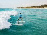 Foil Surf Classes in Tulum for 1 hour