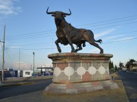 Bullfighting monument