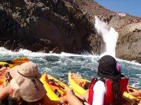 Kayak route to La Bufadora 5 hours