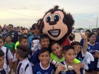 The team mascot