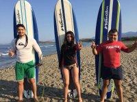 Escuela de surf para adultos