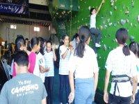 Climbing wall in Ensenada