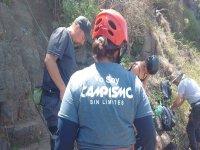 Climbing in Ensenada