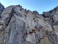 Climbing in Arroyo de Valle de Guadalupe
