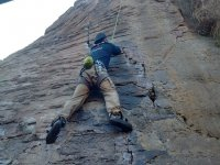 Climbing in Natural Stone