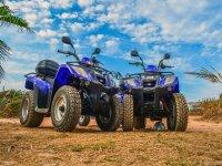ATVs en route