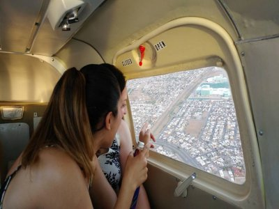 Flight in a Cessna Plane in Chihuahua 1 hour