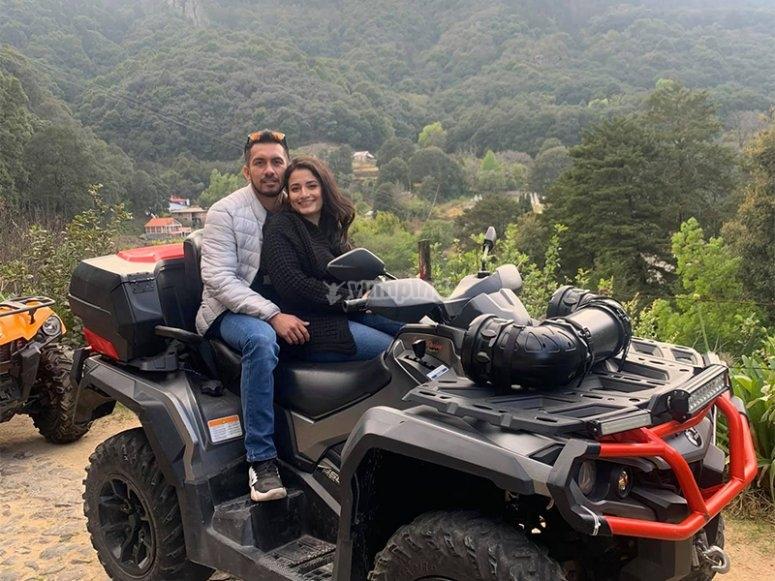 Take a ride in an ATV in Hidalgo