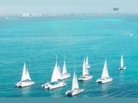 Catamarans in the Caribbean