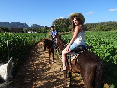 Horseback riding and trekking in Xico with accommodation