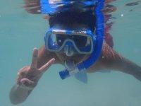 snorkel en baja