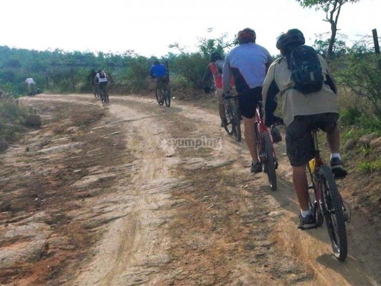 Ven a rodar en grupo y con amigos a la sierra de San Luis Potosí