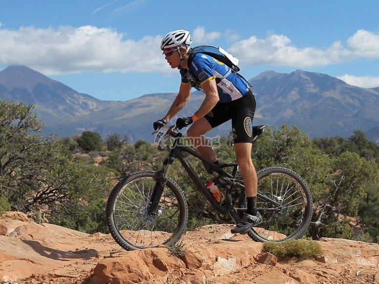 Recorre la sierra de San Luis Potosí haciendo ciclismo de montaña