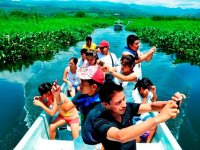 Boat tour to Lake Catemaco and Nanciyaga 4h