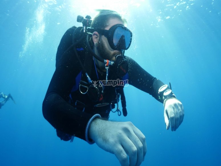 Inmersión de buceo en Mazatlán