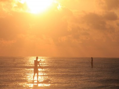 Private Stand Up Paddle Class in Tulum 1 hour