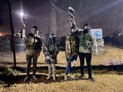 Batalla de gotcha con 100 balas en Tepic