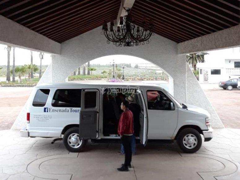 Transporte directo hasta tu Hotel