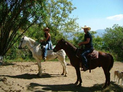 Paseo a caballo en parque de Tapalpa por 1 hora