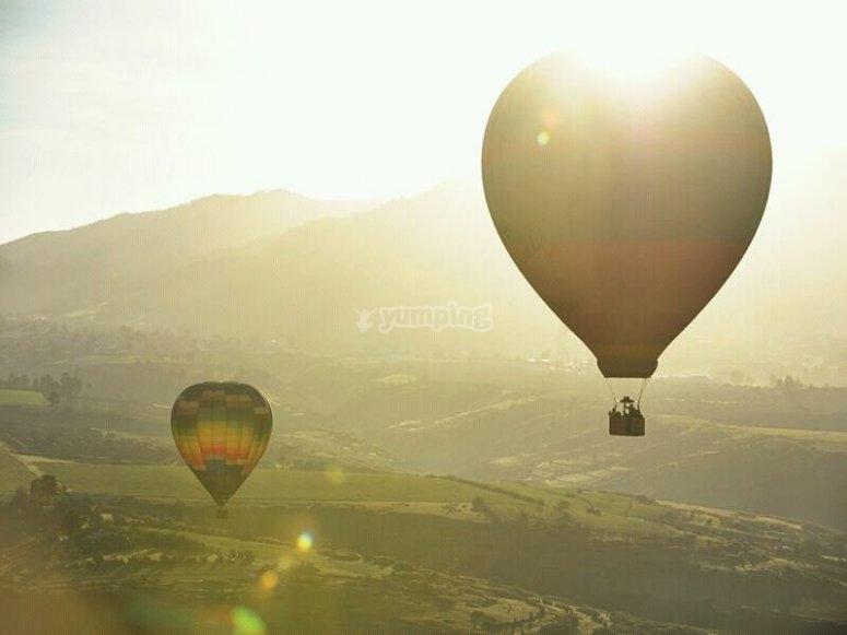 Volando sobre Hidalgo