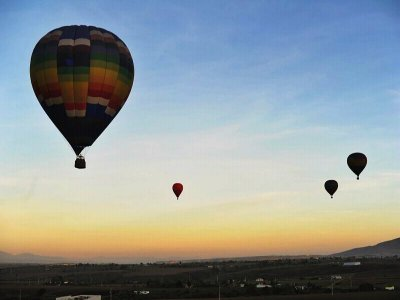 romantic Balloon flight pack in Hidalgo